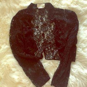 Vintage cache beaded jacket